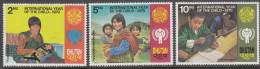 BHUTAN, 1979 INT YEAR CHILD 3 MNH - Bhutan