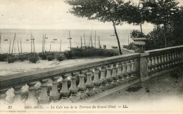 BEG MEIL -29- LA CALE VUE DE LA TERRASSE DU GRAND HOTEL - Beg Meil