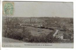 CPA SAINT LUBIN DES JONCHERETS (Eure Et Loir) - Vue Générale De Saint Lubin Et Nonancourt - France