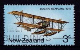 New Zealand 1974 Airmail Transport 3c Boeing Seaplane Used - - New Zealand