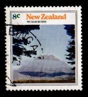 New Zealand 1973 Mountain Scenery 8c Mt. Ngauruhoe Used - - New Zealand