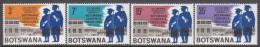 BOTSWANA, 1967 UNIVERSITY 4 MNH - Botswana (1966-...)