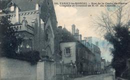 PARAY Le MONIAL - Rue De La Croix-de-Pierre - Chapelle Et Couvent N.-D. Du Cénacle - Paray Le Monial