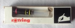 Rotring - Pointe 0,2 Et 0,4 Avec Recharge Vide Et Boite D´origine - Non Classés