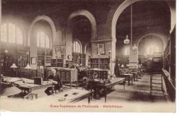 75 Paris ? Ecole Supérieure Pharmacie Bibliothèque Animée Simi Bromure A. Bréger Frères Paris - Enseignement, Ecoles Et Universités