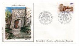 REF X4 First Day Cover FDC Premier Jour Les Baux De Provence - FDC