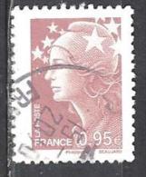 FRANCE 4475° 0,95€ Lilas-brun Clair Marianne De Beaujard (10% De La Cote + 0,15) - 2008-13 Marianne De Beaujard