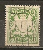 Baviere Bavaria Allemagne Germany 1911 Obl (michel #75) - Bavière