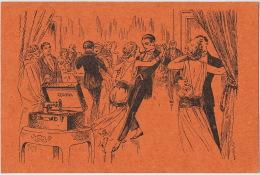 Pub Corona Gramophone Phonographe Machine Parlante 45 Rue Sarrette Paris 14 Eme Danse Valse Tango - District 14