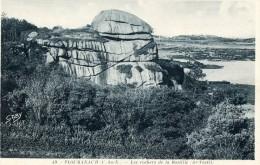 PLOUMANAC´H -22- LES ROCHERS DE LA BASTILLE - Ploumanac'h