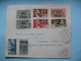 Lettre De Fort Lamy à Fort Lamy 26 .08.1941 - A.E.F. (1936-1958)