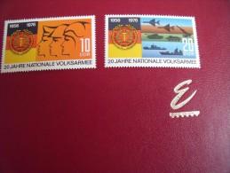 Timbres  DDR **   Année; 1976  Michel N°  2116 / 17 - [6] République Démocratique