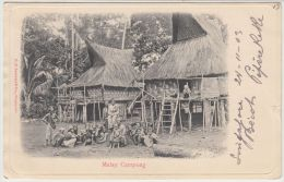 25763g  SINGAPORE - Malay Campong - 1903 - Singapour