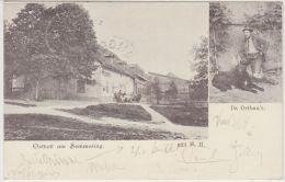 25780g  SEMMERING - Da Ortbau'r - Orthof Am Semmering - Semmering