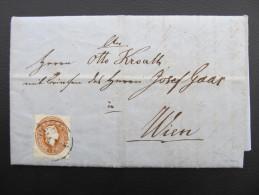 BRIEF Hartberg - Wien M.Inhalt  1862  ///  D*17276 - 1850-1918 Imperium