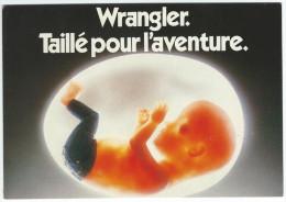WRANGLER. Taillé Pour L'aventure -   Ubique Group Pour Humour à La Carte N° PU 152 - Agence Dupuy-Saatchi - Publicité