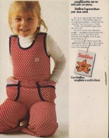 # MAGLIERIA STELLINA 1960s Advert Pubblicità Publicitè Reklame Underclothes Lingerie Ropa Intima Unterkleidung - Bambini