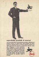 # ABITI FACIS 1950s Advert Pubblicità Publicitè Reklame Suits Vetements Vestidos Anzugen Clothing - He