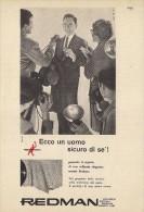 # ABITI REDMAN CERRUTI 1881 1950s Advert Pubblicità Publicitè Reklame Suits Vetements Vestidos Anzugen Clothing - Signore