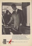 # ABITI REDMAN CERRUTI 1881 1950s Advert Pubblicità Publicitè Reklame Suits Vetements Vestidos Anzugen Clothing - He