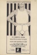 # MAGLIERIA CIT JOCKEY 1950s Advert Pubblicità Publicitè Reklame Underclothes Lingerie Ropa Intima Unterkleidung - Signore