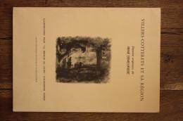 """Villers-Cotterets Et Sa Région - Pochette Contenant 7 Dessins De René Demeurisse, Illustration Pour """"le Meneur De Loups"""" - Affiches"""