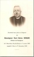 63 - BEURIERES- Monseigneur Henri-Marius BERNARD Evêque De Perpignan, Né à Beurières -1885-1959 - Carte In-Mémoriam - France