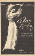 # ZALAR NAILON MILANO 1950s Advert Pubblicità Publicitè Reklame Underwear Maillots Bain Trajes Badeanzug - Vintage Clothes & Linen