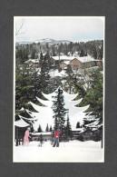 SPORT - SKI - VAL DAVID - QUÉBEC - HÔTEL LA SAPINIÈRE  PROP. M & MME J.L. DUFRESNE - SPORTS HIVER ÉTÉ  PHOTO W. SCHERMER - Sports D'hiver