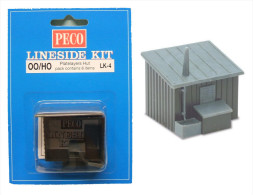 Peco - CABANE En BOIS Platelayers Hut Maquette à Monter LK-4 Kit NBO OO 1/76 - HO 1/87 - Scenery