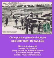 Cpa ANGERS : Aviation Circuit D´Anjou, BIELOVUCIC Sur Monoplan HANRIOT Fait Son Plein D´essence AUTOMOBILINE, Juin 1912. - Angers