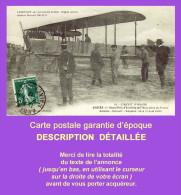 Cpa ANGERS : Aviation, Circuit D´Anjou, 1er Grand Prix De L´Aéro-Club De France. LABOURET Sur Biplan ASTRA, Juin 1912. - Meetings