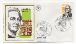 """1983--enveloppe 1er Jour-FDC""""Soie""""-A.J  GABRIEL..--cachet  PARIS--75 - FDC"""