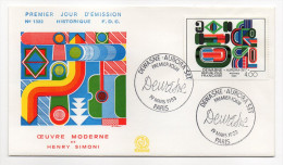 "1983--enveloppe 1er Jour-FDC""peinture""--Dewasne--Aurora Set---cachet  PARIS--75 - FDC"