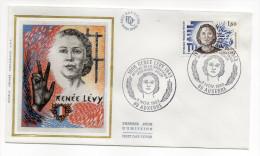 """1983--enveloppe 1er Jour-FDC""""Soie""""--Renée LEVY-résistante- Cachet  AUXERRE--89 - FDC"""