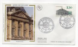 """1983--enveloppe 1er Jour-FDC""""Soie""""--BORDEAUX--Musée Des Douanes- Cachet   BORDEAUX -33 - FDC"""
