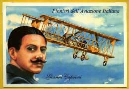 724 Aviation Pilote Gianni Caproni Pionniers De L´Aviation Italienne PC - Aviazione
