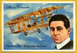 Aviation Pilote Mario Cobianchi Pionniers de l�Aviation Italienne PC