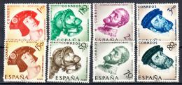 ESPAÑA 1958. CARLOS I DE ESPAÑA. EDIFIL Nº 1224/1231. NUEVA CON CHARNELA .SES131GRANDE - 1951-60 Unused Stamps