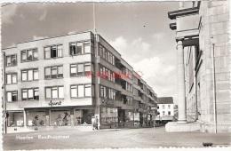 Heerlen Raadhuisstraat Met Sportwinkel, Echte Fotokaart 1960 - Heerlen