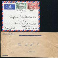 SIERRA LEONE MILITARY KG6 GARRISON MAIL - Sierra Leone (...-1960)