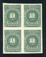 PANAMA 1904 AMERICAN BANKNOTE A.R. PROOFS - Panama