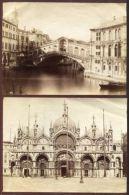 VENICE ITALY 19TH CENTURY PHOTOGRAPHS - Photographs