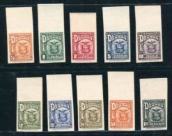 PANAMA 1924 AMERICAN BANK NOTE EAGLE PROOFS - Panama