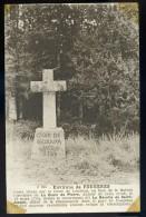 Cpa Du 35 Environs De Fougères Croix Route De Landéan , La Révolte De St Joseph En 1793 Autour De Cette Croix   AA9 - Fougeres