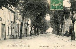 C4609 Cpa 87 Bellac - Avenue De La Gare - Bellac