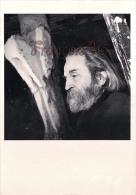 Gérard Rondeau - Etienne Martin Atelier Paris 1987 - Sculpteur - Portrait D'artistes - Artistes