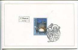 First Day Christmas Card - Austria, 2004 - Noël