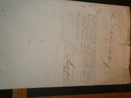 Lettre Adressée Au Dr EDUARD ZICKWOLFF Venant De PEST  Datée Du 11 Novembre 1858 Signée D'un Rudolph .....? - Documents Historiques