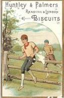 D-15-3968 :  BISCUITS HUNTLEY & PALMERS  COURSE DE HAIES - Confectionery & Biscuits